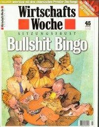 Bullshit Bingo - Manager Magazin Titel
